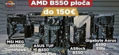Test AMD B550 ploča do 150€ - TUF, Aorus, Tomahawk ili Steel Legend? (video)