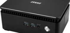 MSI Cubi 3 Silent je fanless Kaby Lake mini PC