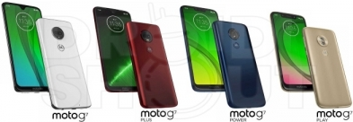 Renderi Moto G7, Plus, Power i Play telefona