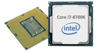 Intel Core i7 8700K CPU overklokovan do 7.405 GHz uz LN2